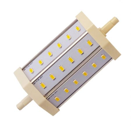 JSG Accessories® J118 R7S 8W LED Bulb Lamp Light 85-265V AC replacement for Halogen Flood Lamp [White]